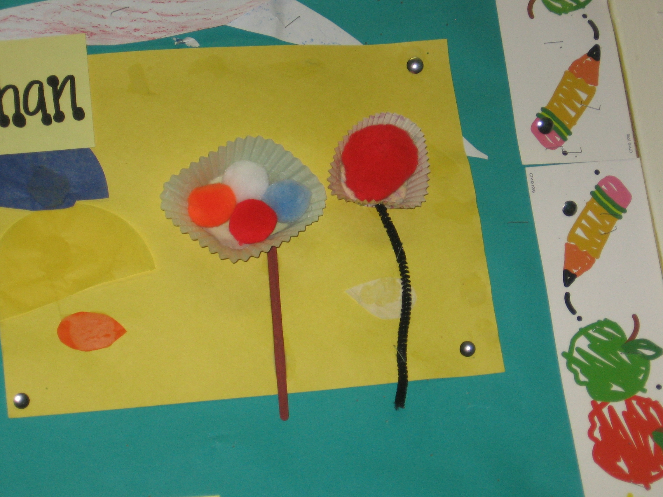 Spring Crafts For Preschoolers Flower Collages And More