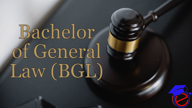 BGL (Bachelor of General Law)