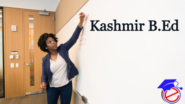 Kashmir B.Ed 2021