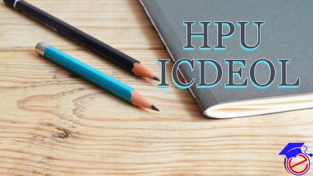HPU ICDEOL