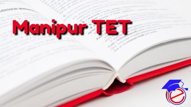 Manipur TET 2021