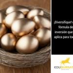 ¿Es la diversificación una alternativa eficiente para manejar todo tipo de inversión?
