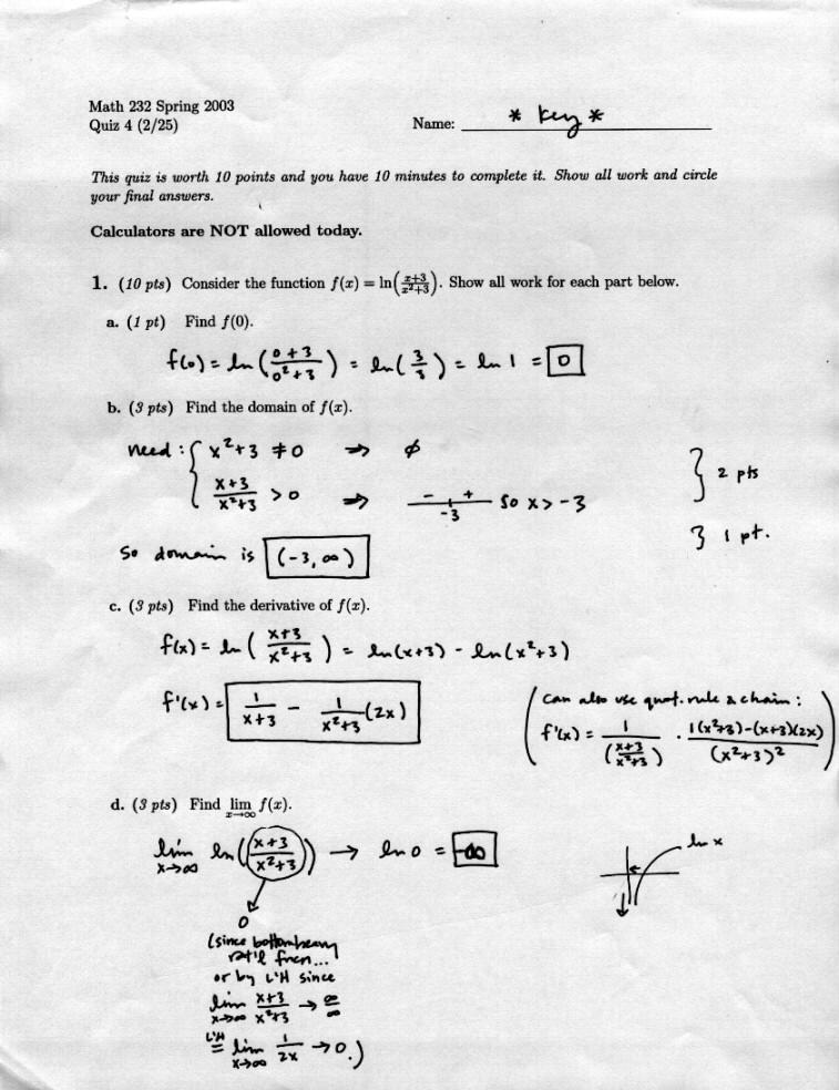 Laura's Integrated Calculus 232