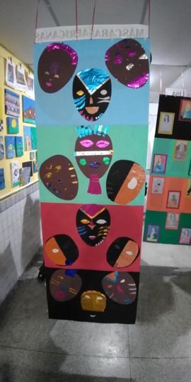 5º ano - Máscaras Africanas