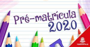 Pré-matrícula para escolas e creches municipais acontece de 1º a 31 de outubro