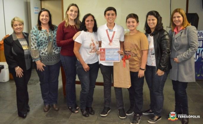 Premiação OBMEP - José Miguel de Oliveira