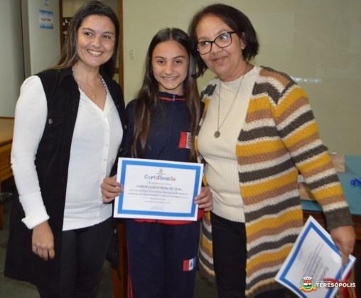 Premiação OLP - Gabriela Monteiro de Lima