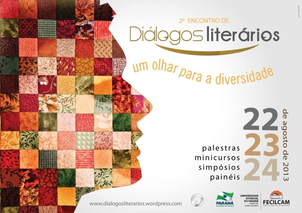 Um olhar para a Diversidade - 2o encontro de diálogos literários em agosto