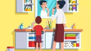 Hábitos de higiene para crianças