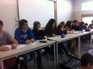 Estudantes em assembleia. Foto: Divulgação