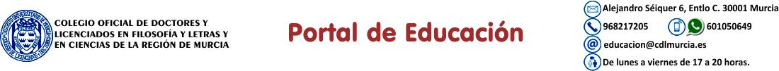 Portal de Educación del CDLMurcia