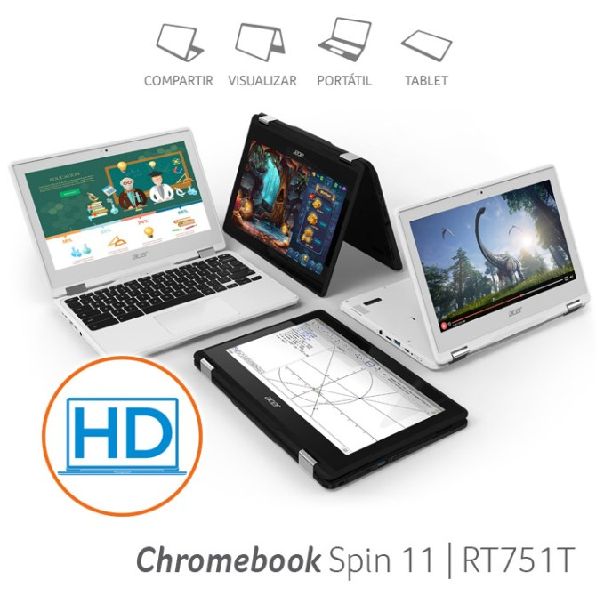Acer Chromebook Spin 11 | R751T