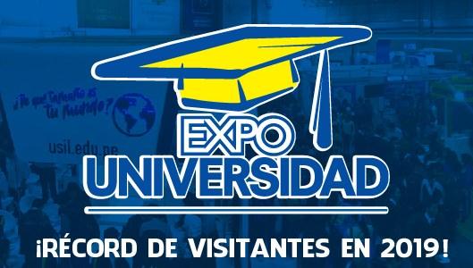 ¡¡Expo Universidad 2019 rompe récord de visitas!!