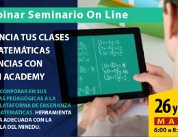 POTENCIA TUS CLASES DE MATEMÁTICAS Y CIENCIAS CON KHAN ACADEMY