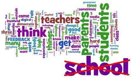 Diseñando la ¿escuela? ideal. Nuevos entornos de aprendizaje. (2º borrador, 01/2011) (1/2)