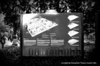 Cartel del Jardin botanico