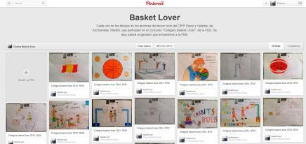 Tablero Basket Lover I