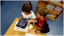 Una vez hecho el laberinto, se fotografía con la tablet y a jugar... (IV)