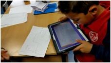 Una vez hecho el laberinto, se fotografía con la tablet y a jugar... (VII)