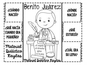 Maravilloso material interactivo de Benito Juárez