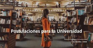 Postulaciones para la Universidad