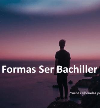 Formas Ser Bachiller