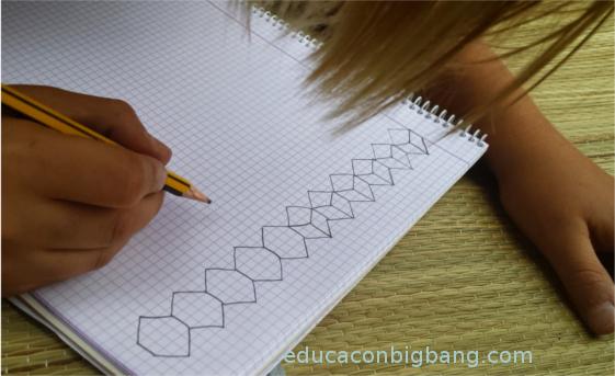 Dibujando la ilusión óptica
