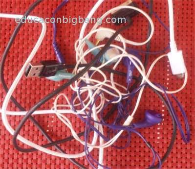 Cables enredados