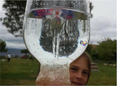 Cmo hacer un tornado con dos botellas presin del aire