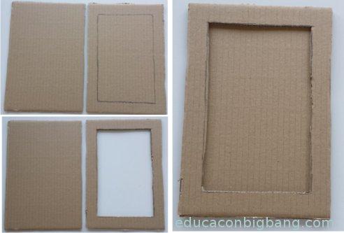 Tablilla en cartón