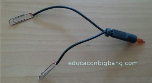 Lámpara con clips