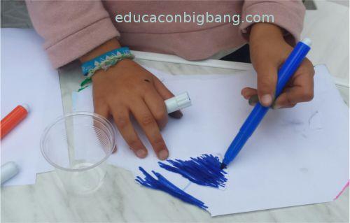 Pintando en papel