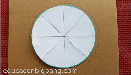 Marcando los diámetros