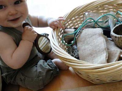 estimulação de bebês
