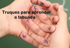 aprender a TABUADA