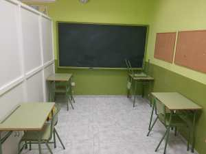 Aula de academia Educademia Dos Hermanas y Montequinto
