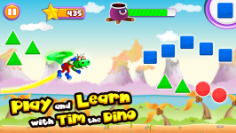 Dino Tim: Learn shapes and colors