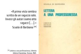 Lettera ad una professoressa