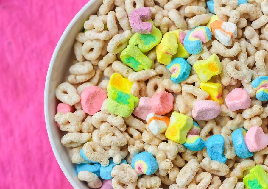 cereales niños