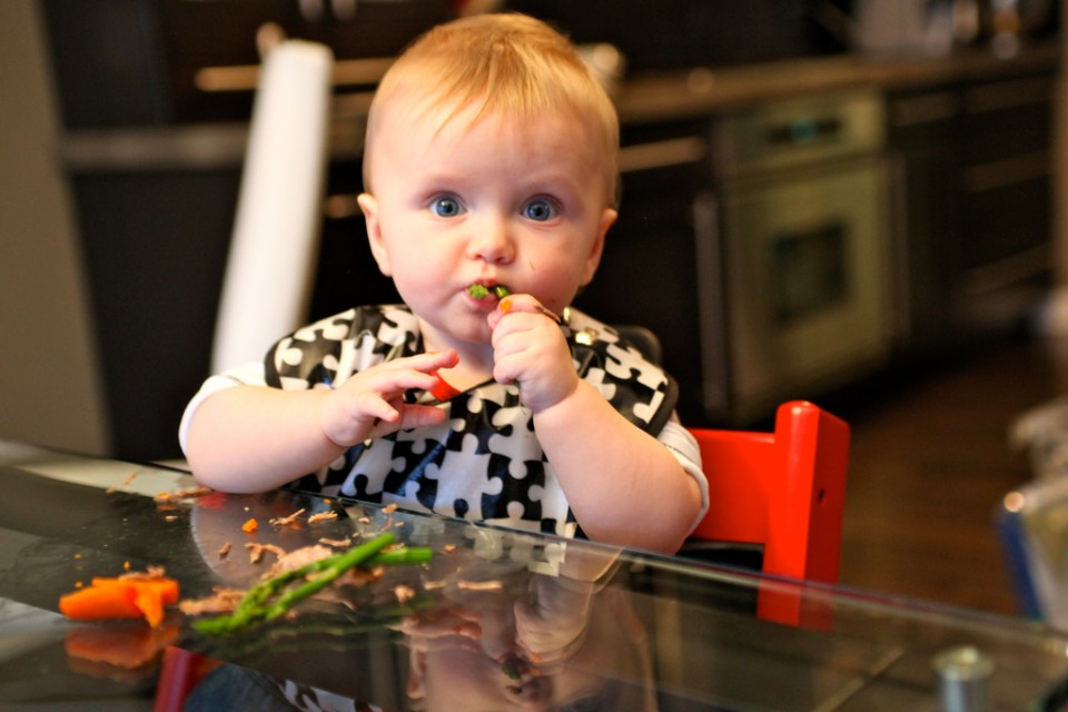 menú baby-led-weaning