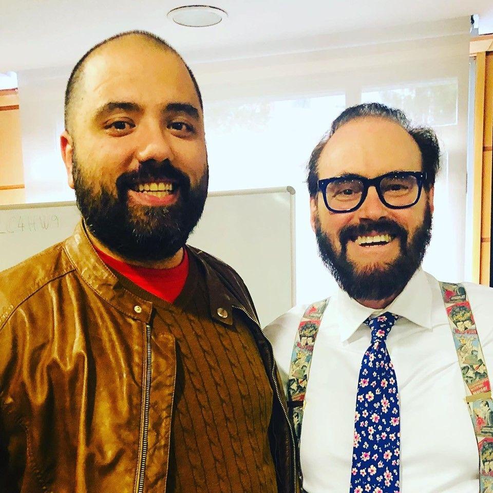 Gabriel Ruiz con Dr. David Cook   Educando tu mirada