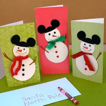 pequeos de color negro para hacer las orejas a continuacin te dejamos una imagen de cmo quedara terminada la tarjeta navidea hecha por tus hijos