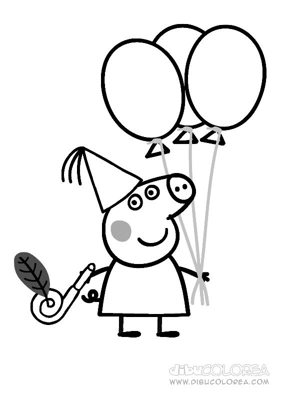 Im 225 Genes Y Dibujos De Peppa Pig Para Imprimir Y Colorear