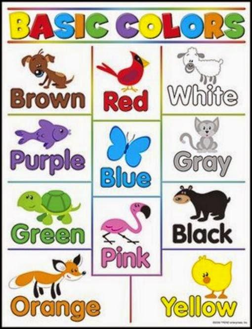 Los colores en ingles y espa ol para ni os material para maestros planeaciones ex menes - Aprender ingles en un mes ...