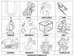 imagenes de objetos con comienzan con u