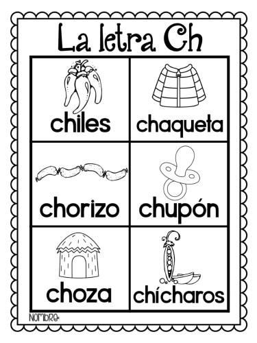 Letras del alfabeto para colorear e imprimir   Material para ...
