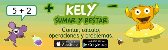 juegos sumar restar app Kely