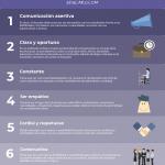 Estrategia de Comunicación Online para Docentes – 6 Capacidades Primordiales | Infografía