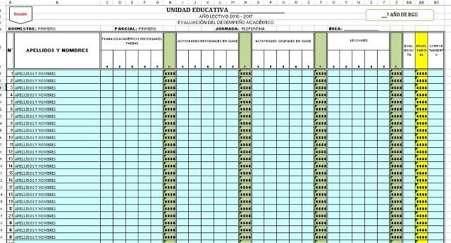cuadros de calificaciones en excel planilla de calificaciones primaria formato de calificaciones cuadro de calificaciones quimestrales descargar cuadro de calificaciones en excel modelo de boletín de calificaciones cuadro de notas formato de boletín de calificaciones en word
