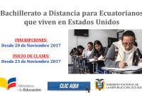 Bachillerato a Distancia para Ecuatorianos que viven en Estados Unidos
